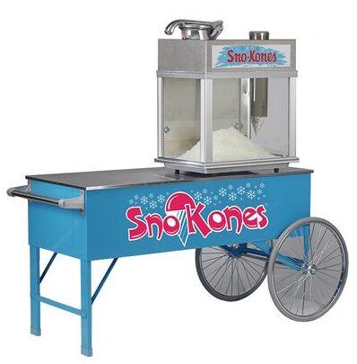 best snow cone cart