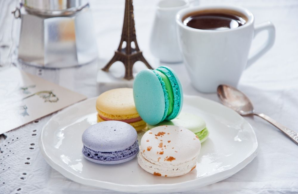 Macarons are French... or are they?