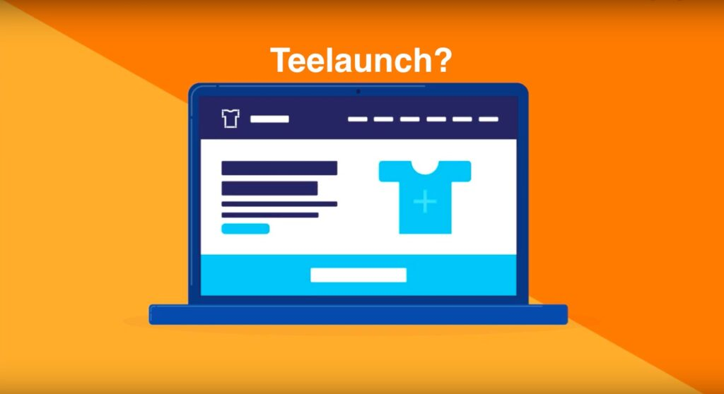 what is teelaunch, teelaunch app shopify