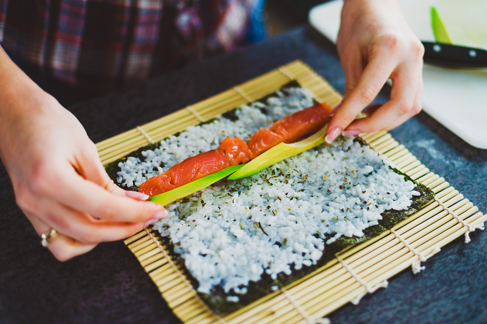 how to make sushi at home, sushi at home costs