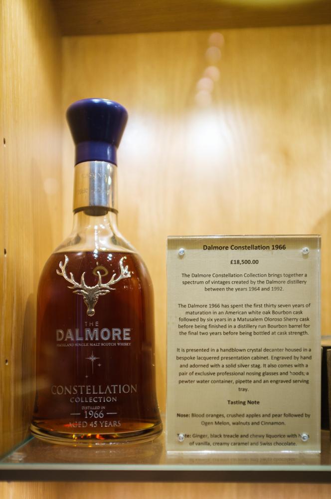Dalmore 64 Trinitas, expensive whiskey