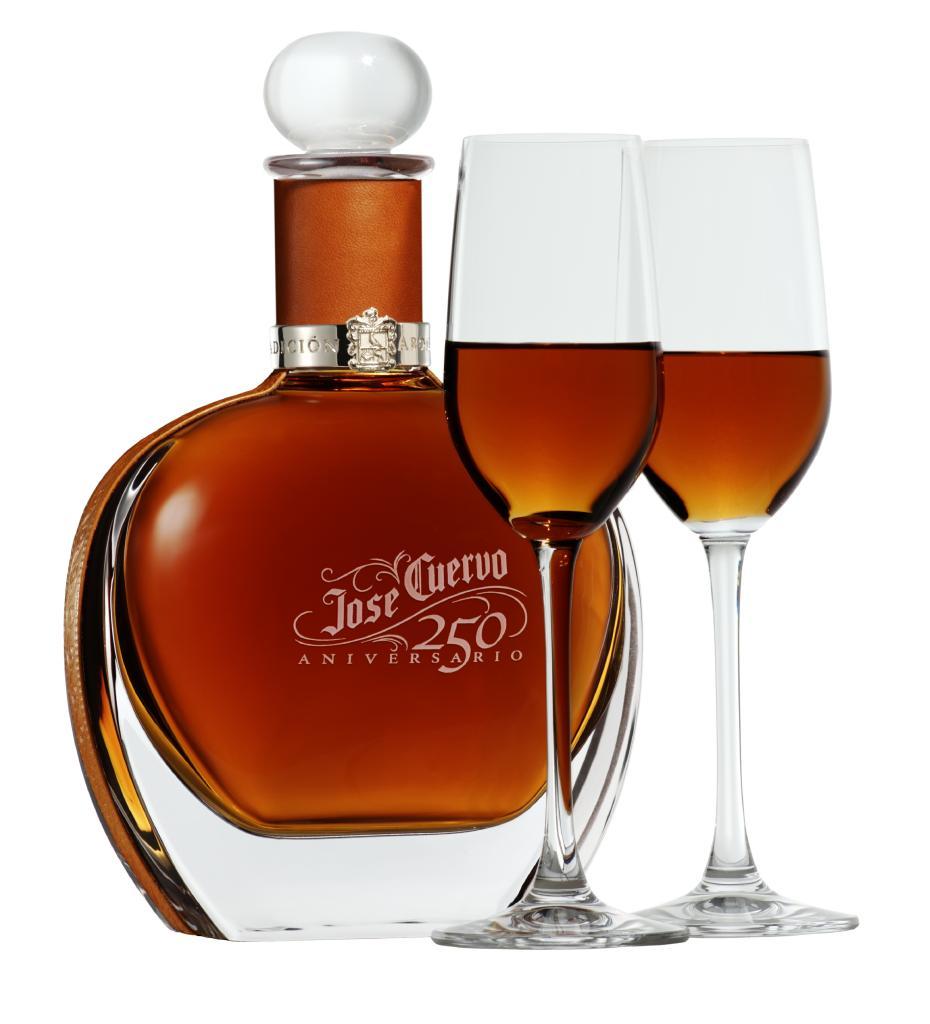 José Cuervo 250 Aniversario expensive tequila