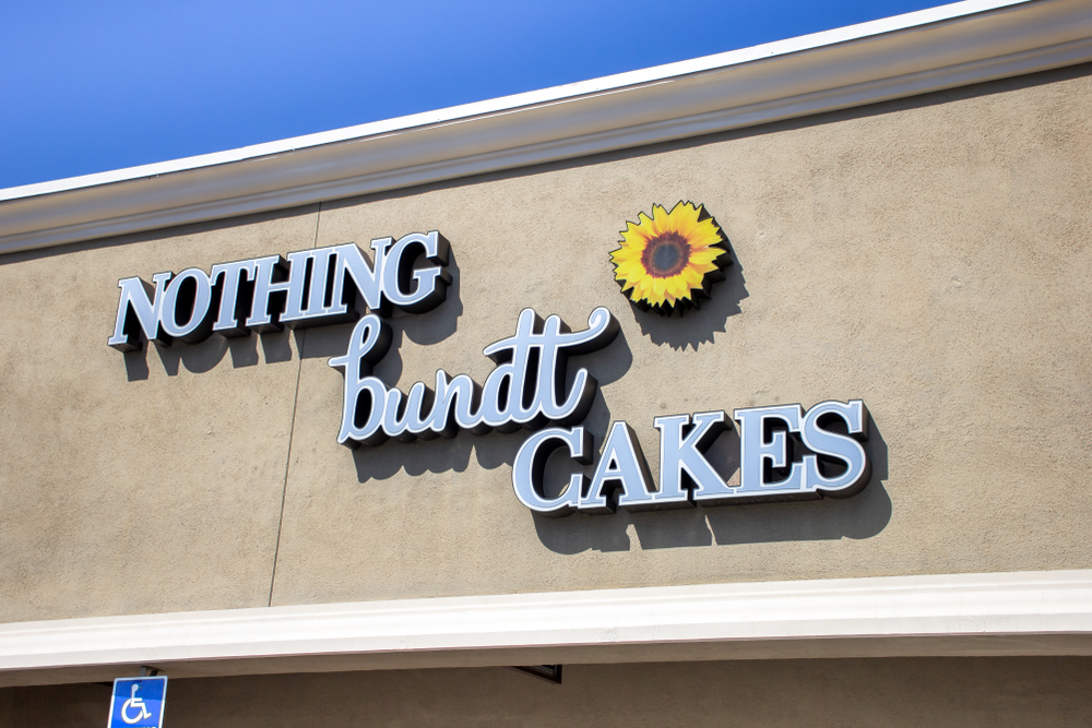 Nothing Bundt Cakes franchise start up cost