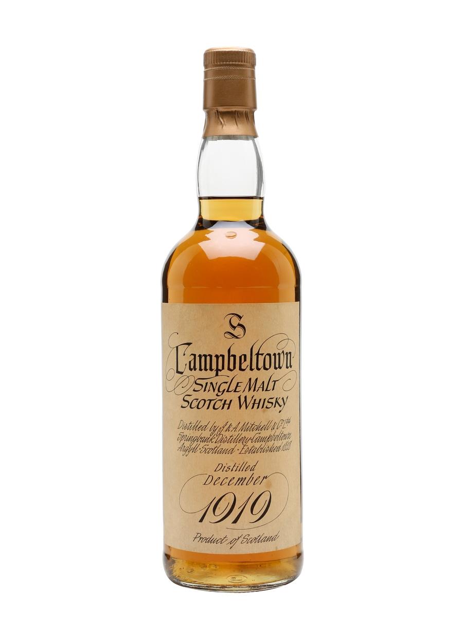Springback 1919 whiskey price
