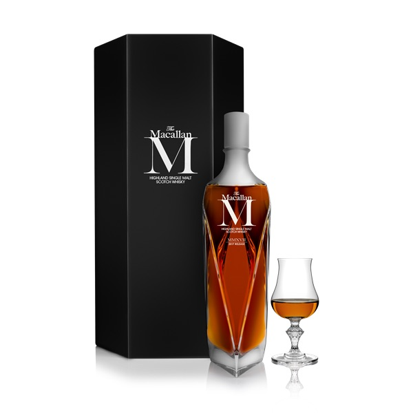 The Macallan M whiskey price, expensive whiskey list