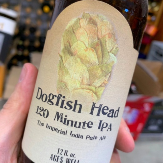 Dogfish Head 120 Minute IPA price per bottle, expensive types of beer