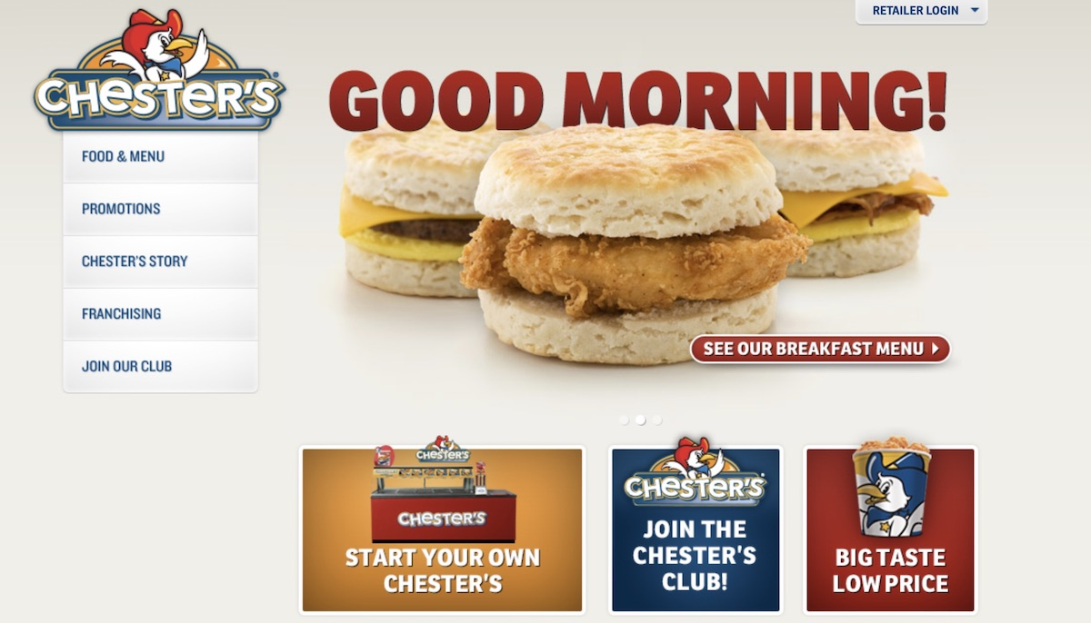 Chester's Chicken franchise