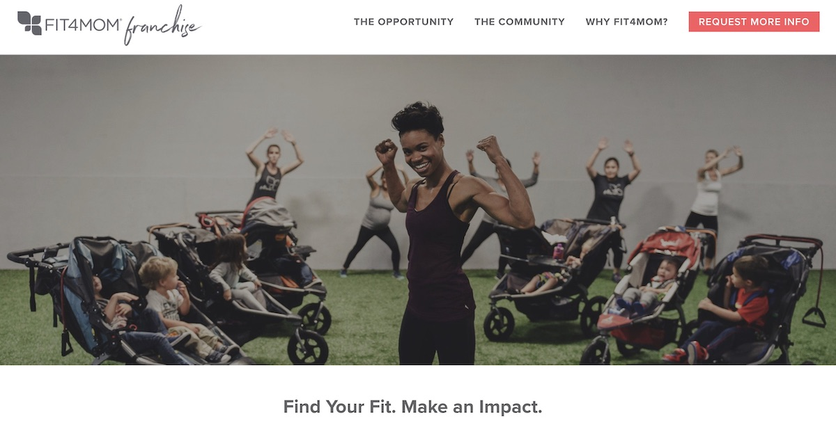 Fit4Mom franchise startup cost