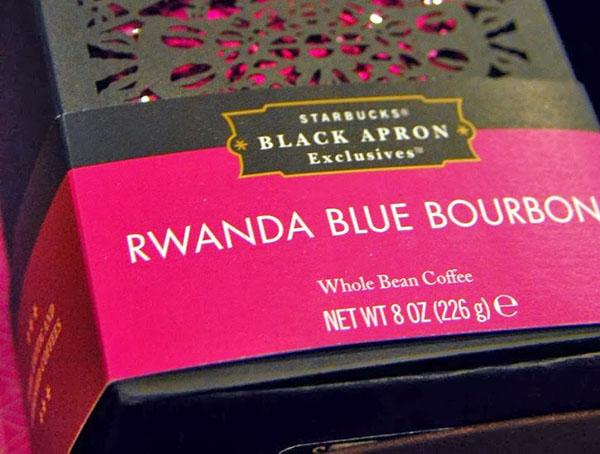 Most expensive coffees, Rwanda Blue Bourbon coffee