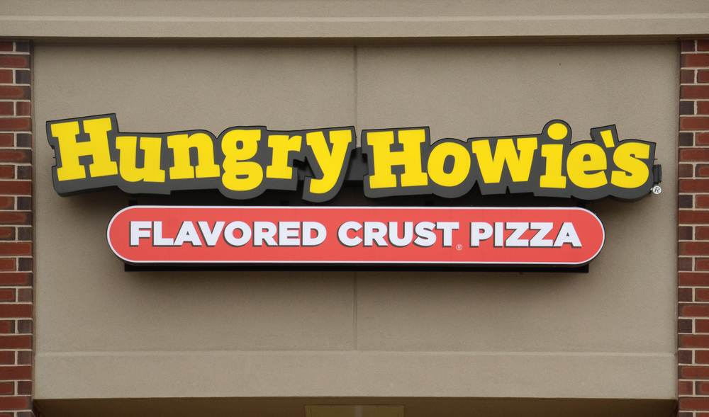 Hungry Howie's Pizza franchise fee