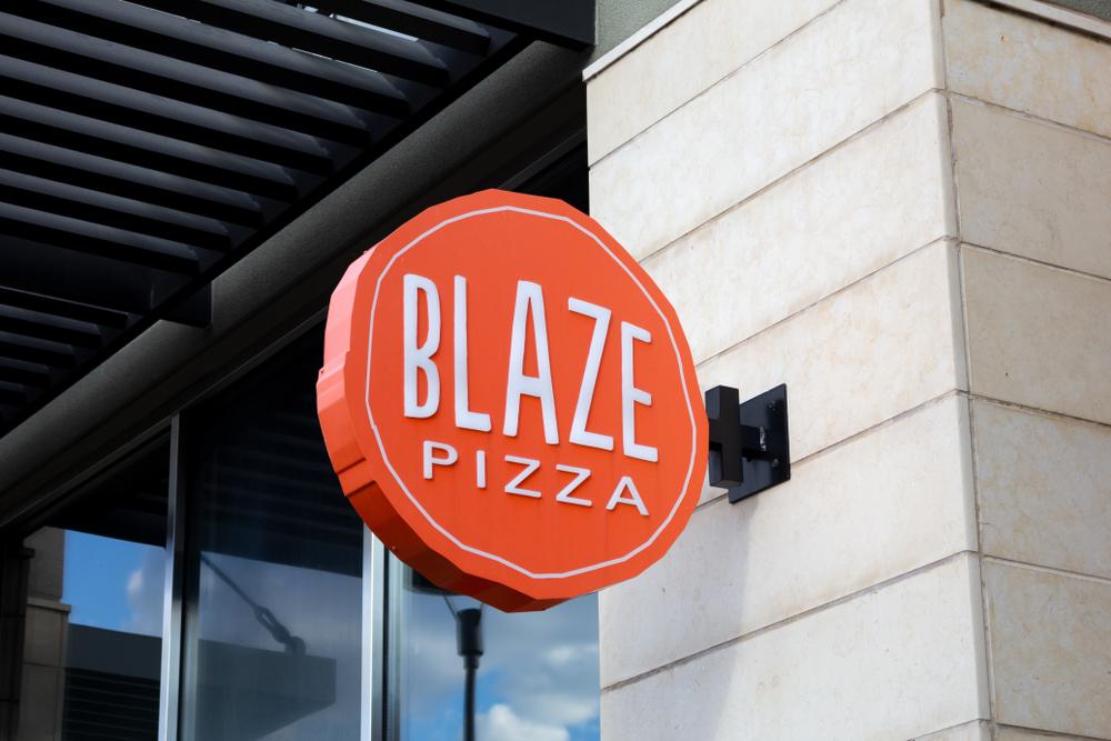 blaze pizza franchise, best pizza franchises