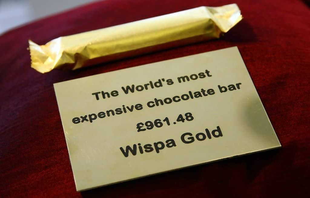 most expensive chocolate bar