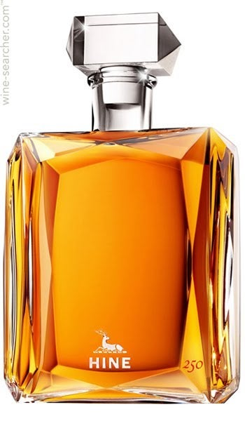 Expensive brandies, HINE 250 Years Decanter 1953 Cognac price