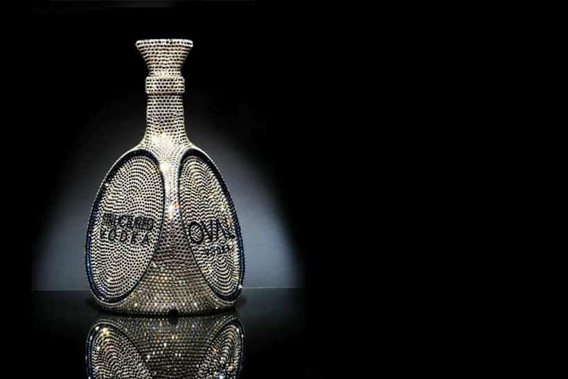 OVAL Swarovski Crystal, expensive vodkas Vodka