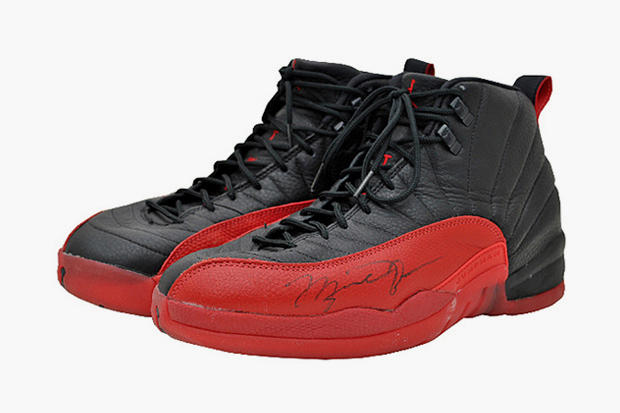 Air Jordan 12 Flu Games sold price