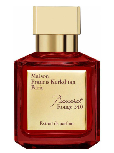 Baccarat Rouge 540 Perfume men's fragrance
