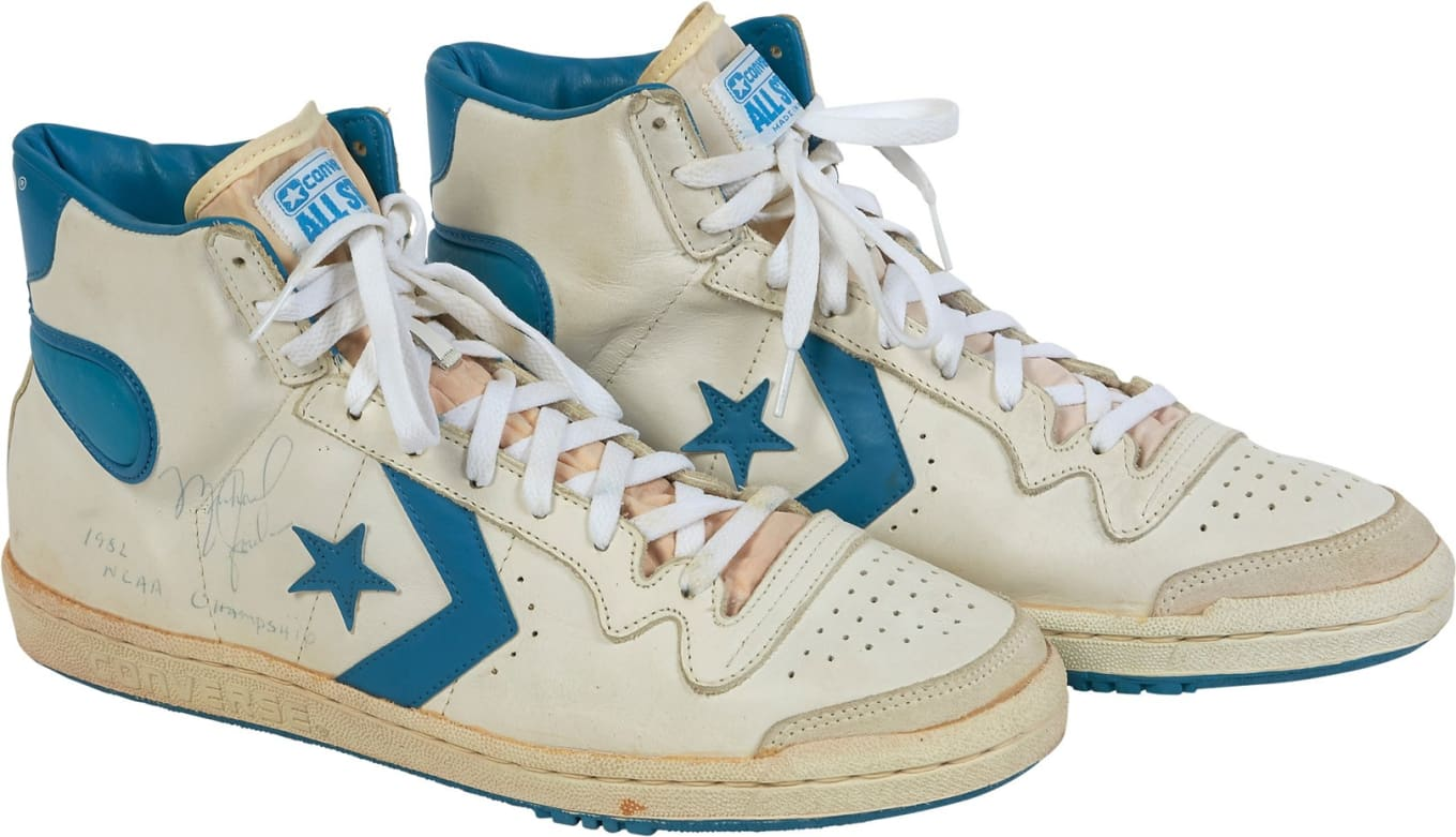 Converse Fastbreak (Worn by Michael Jordan) auction price