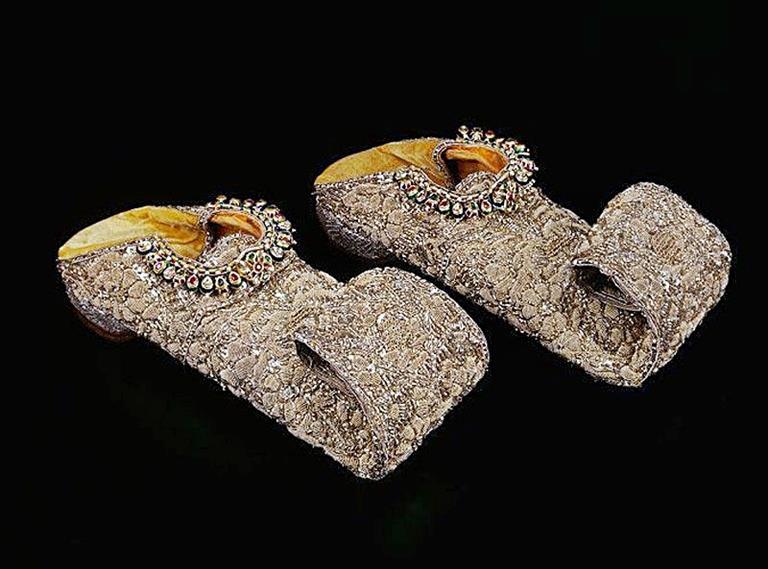 Nizam Sikandar Jah Shoes value