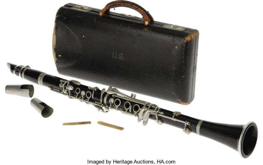 most expensive clarinets, benny Goodman's clarinet auction price