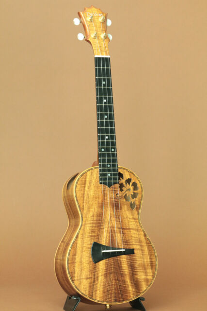 DeVine Hawaiian Koa Tenor Hibiscus 2003 price
