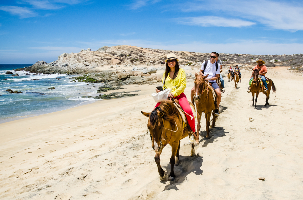 horse tours, making money with horses