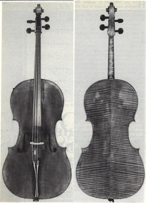 most expensive cello in the world, Duport Stradivarius Cello