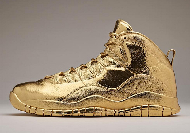 Solid Gold OVO x Air Jordans price