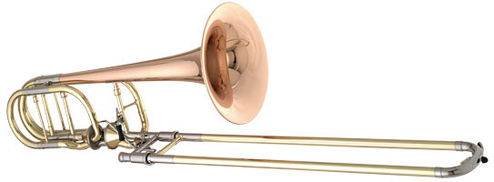 Getzen 3062AF Custom Series Bass Trombone, most expensive trombones