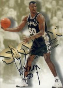 most valuable David Robinson basketball cards