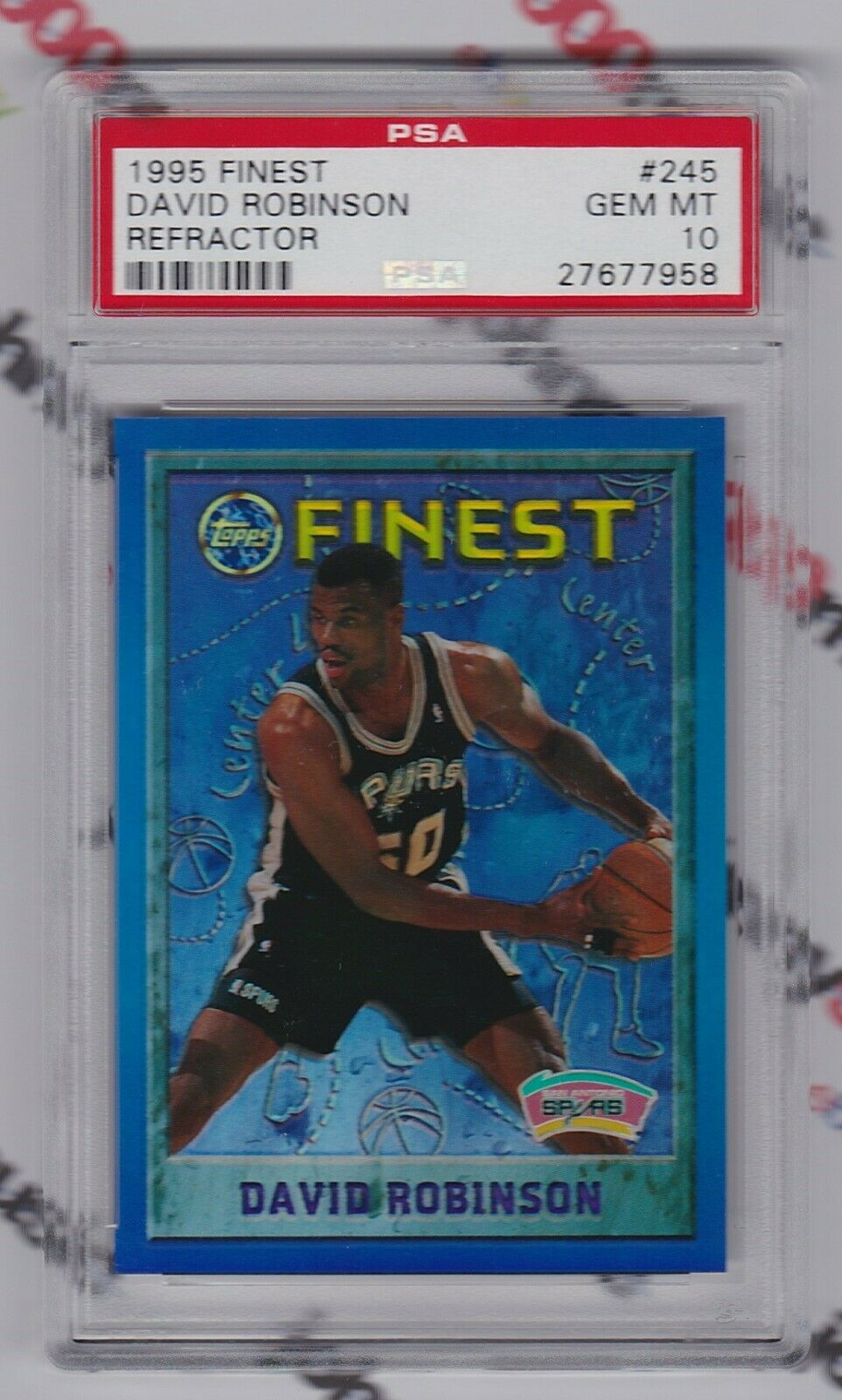Most expensive David Robinson cards