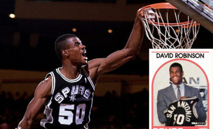13 Most Expensive David Robinson Basketball Cards