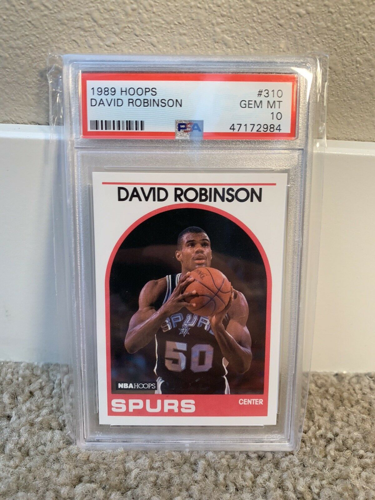 what are valuable david robinson basketball cards