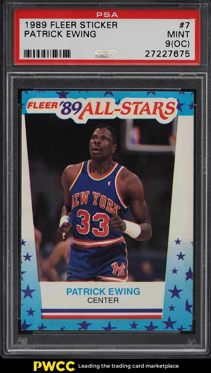 most valuable patrick ewing cards